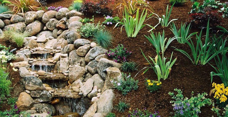 water feature for your landscape project