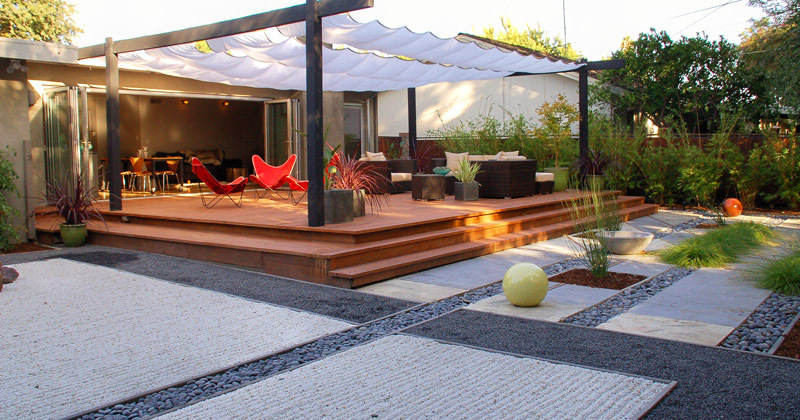 Transform your back yard to a wonderful outdoor living space